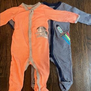 Baby boy pajama bundle 9 months